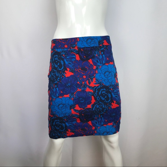 Ann Taylor Dresses & Skirts - Ann Taylor Pencil Straight Floral Lined Skirt